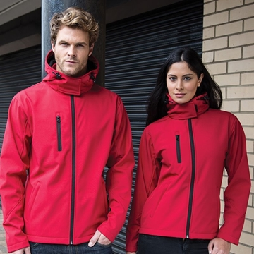 Picture of Core TX performance hooded softshell jacket