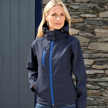 Picture of Women's Core TX performance hooded softshell jacket
