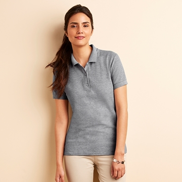 Picture of Women's premium cotton double pique sport shirt