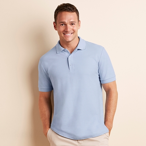 Picture of Premium cotton double pique sport shirt